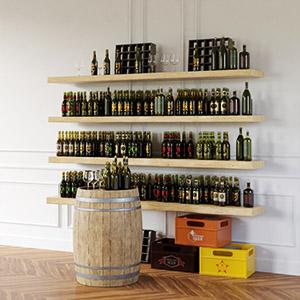 酒水商品3D模型-1305S12