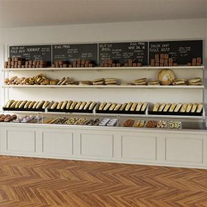 面包店商品3D模型-1305S8