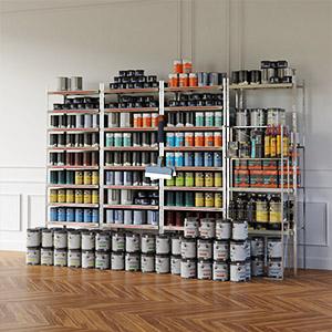 油漆罐涂料商品3D模型-1305S6