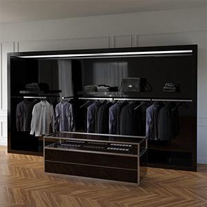 商场衣服店3D模型-1305S3
