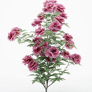 牡丹花盆栽3D模型-1008F47