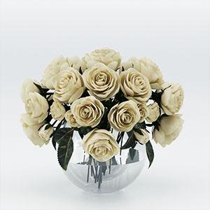 白玫瑰3D模型-1008F50