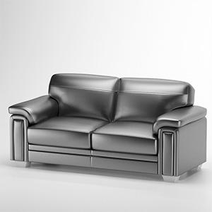 皮沙发3D模型-010202S28