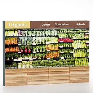 货架上的蔬菜3D模型-1305S27