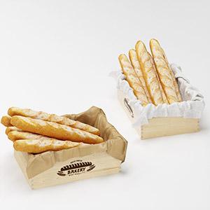 面包3D模型-0406S6