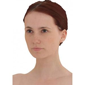 高级扫描全身女人3D模型-0806R1