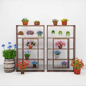 植物盆栽3D模型-1007P78
