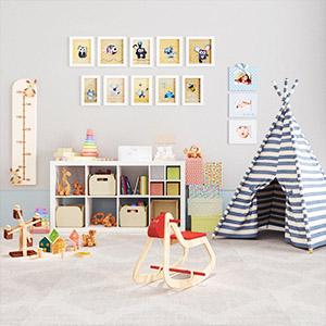 现代儿童房陈设品组合3D模型-1406Z7