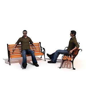 西装男人3D模型-0801N29