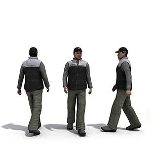 男人3D模型-0801N31