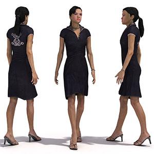 女人3D模型-0802N20