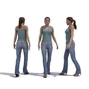 女人3D模型-0802N23