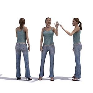 女人3D模型-0802N24
