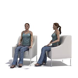 女人3D模型-0802N25