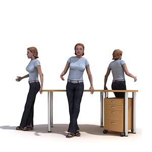 女人3D模型-0802N27