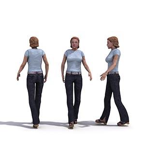 女人3D模型-0802N28
