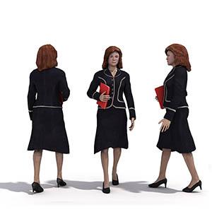 女人3D模型-0802N35