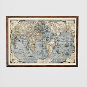 世界地图3D模型-0317H25