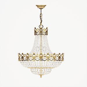 水晶吊灯3D模型-0202D43
