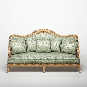 欧式沙发3D模型-010202S29
