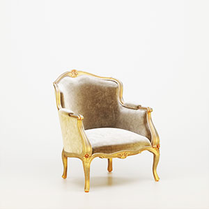 单人沙发3D模型-010201S24