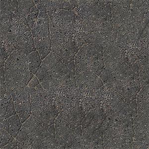 8K黑色开裂沥青贴图-0205D19