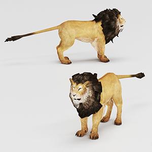狮子3D模型-0902P1