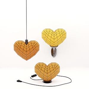 心形吊灯3D模型-0202D46