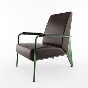 单人沙发3D模型-010201S26