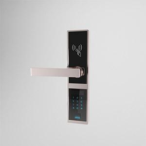 指纹门锁3D模型-0608B5