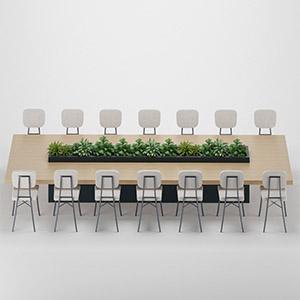 休闲桌椅3D模型-0107ZY35