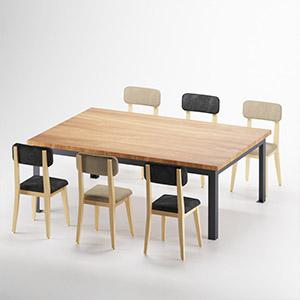 休闲桌椅3D模型-0107ZY36