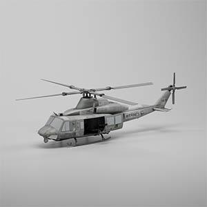 UH-1Y毒液直升机3D模型-1105JZ15