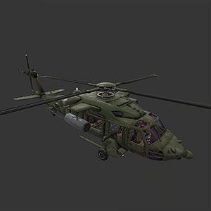 攻击直升机3D模型-1105JZ18