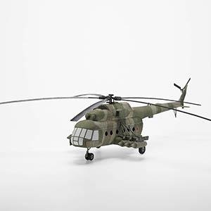 米-8直升机3D模型-1105JZ21
