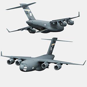 C-17轰炸机3D模型-1103F33