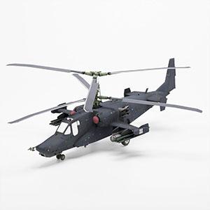 卡-50黑鲨武装直升机3D模型-1105JZ26