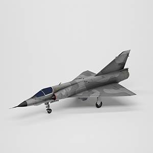 幻影III战斗机3D模型-1103F36