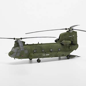 CH-47运输直升机3D模型-1105JZ32