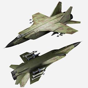 米格-35战斗机3D模型-1103F45