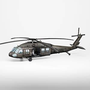 黑鹰直升机3D模型-1105JZ33