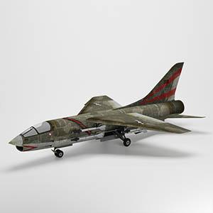 F-8战斗机3D模型-1103F46