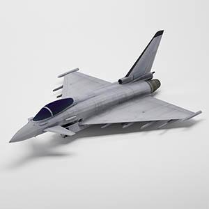 台风战斗机3D模型-1103F47