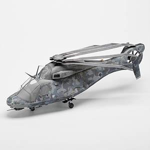 侦察直升机3D模型-1105JZ35