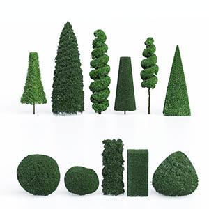 灌木3D模型-1002G44