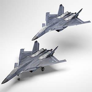 CFA-44战斗机3D模型-1103F51