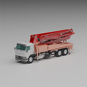 泵车3D模型-070303G2