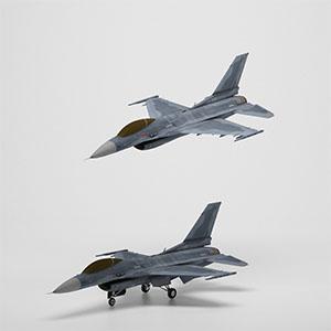 F-2战斗机 3D模型-1103F53