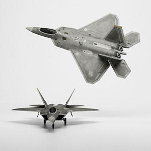 F-22战斗机3D模型-1103F54