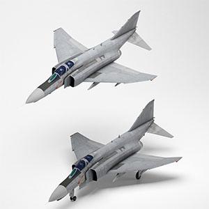 F-4E幻影II战斗机3D模型-1103F55